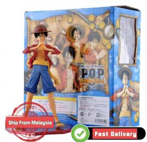 POP Luffy Action Figure Anime ONE Piece Excellent
