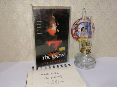 THE CROW VHS Film Movie Video Tape 1994