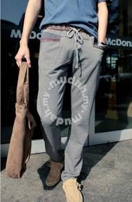 Tribal Sports Training Casual Trouser Pants - Grey