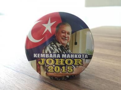 Pin Button Kembara Mahkota Johor