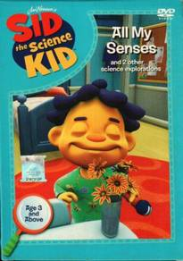 DVD Sid The Science Kid - All My Senses