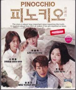 DVD Korean Drama Pinocchio