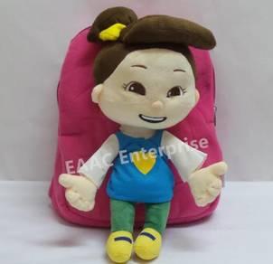 3D Cute Hana Kanak2 Islam Backpack School Bag