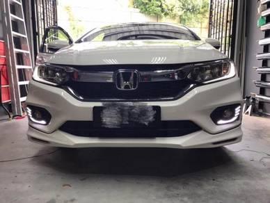 Honda city fl modulo bodykit w paint oem body kit