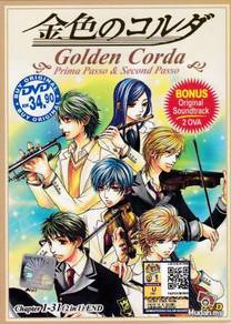 DVD ANIME LA CORDA D'ORO GOLDEN CORDA V.1-31End