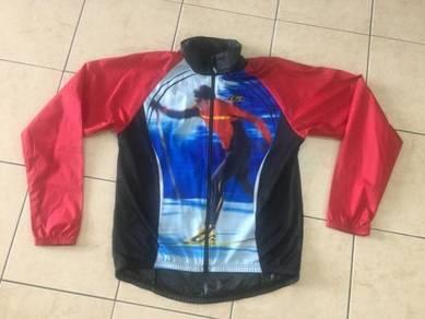 Louis Garneau Cycling Windbreaker Jacket Full Zip