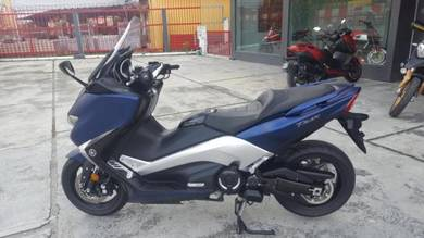 Yamaha tmax 530dx 2017 unregistered almost new