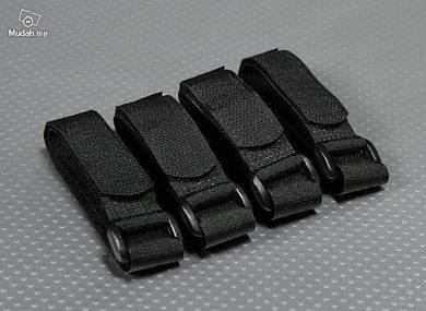 Battery Strap 300X20mm (Black) (4pcs/bag)