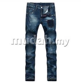 Hole jeans men's jeans pants D2