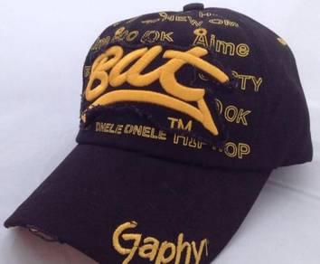Black Bat graphy cap