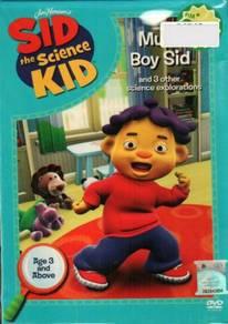 DVD Sid The Science Kid - Muscle Boy Sid
