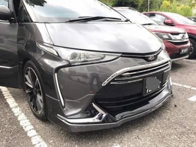2016 Toyota estima aeras modelista bodykit paint