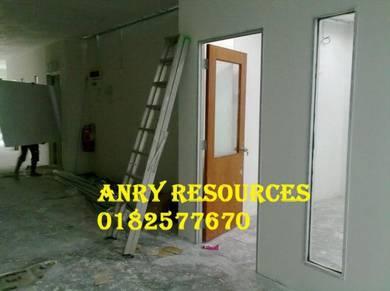 Pejabat rumah renovation