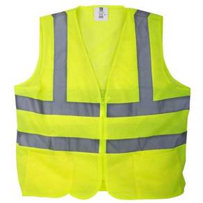 Safety vest cw reflective line