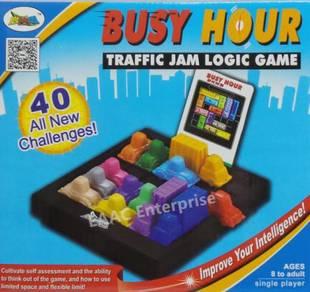 IQ Game & Busy Hour Traffic Jam Logic Game Fun Toy