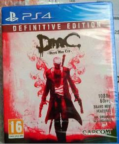 NEW PS4 Game Devil May Cry Definitive Edition