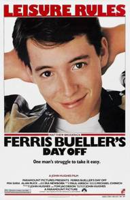 Poster MOVIE FERRIS BUELLERS DAY OFF