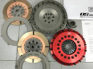 OS GIKEN STR 2C Twin Plate Clutch Mit Lancer Evo 3