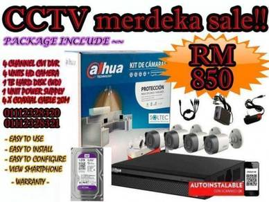 Original DAHUA CCTV+FREE HDD (1 YEAR WARRANTY) h21