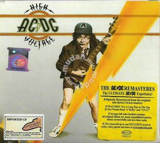 IMPORTED CD AC/DC High Voltage