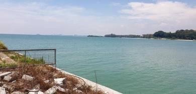 Semi-D Villa Land Facing Beach And Sea Port Dickson