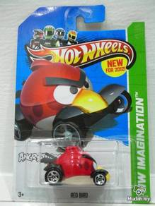 Hotwheels 2012 Angry Birds Red Bird NEW