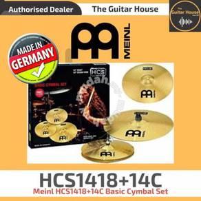 Meinl HCS1418+14C Basic Cymbal Set