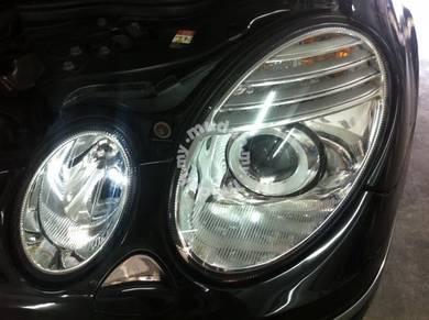 Mercedes W211 facelif head lamp SET
