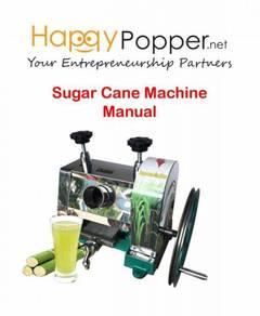Mesin Sugarcane Machine Manual Sugar Cane new