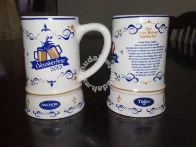 Cawan Tiger octoberfest 2013 mini mug cup