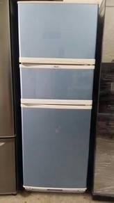 Blue Elba 3 Fridge Peti sejuk Pintu Refrigerator