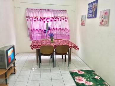 Bilik wanita fully furnished 5 minit ke mrt kota damansara