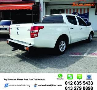 Mitsubishi Triton Rear Steel Bumper HeavyDuty