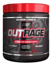Nutrex Outrage Super Preworkout Vein Strength