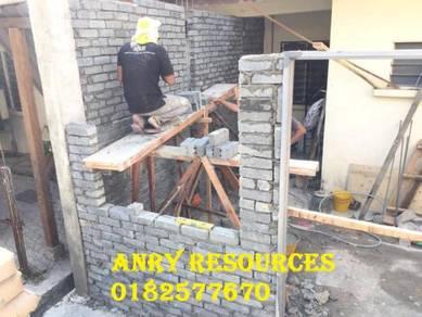 Membina dan ubahsuai renovation