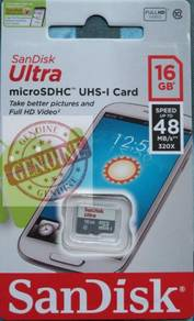 SanDisk ULTRA microSDHC UHS memory Card 16GB
