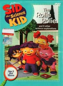 DVD Sid The Science Kid - The Rolie Polie