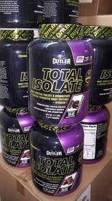 Cutler total isolate protein Whey muscle growth