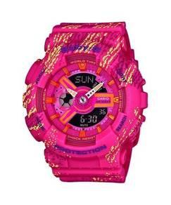 Watch- Casio BABY G TEXTURE BA110TX-4 -ORIGINAL