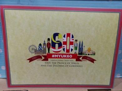FDC/Stamp/Folder Royal Visit