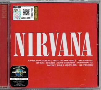 IMPORTED CD Nirvana Icon Greatest Hits