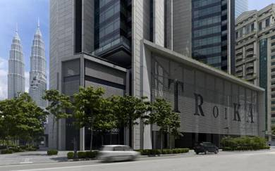 Condominium the troika freehold 2 parking klcc kl city