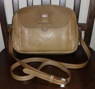 Sling Bag Leather Courreges (Defect)