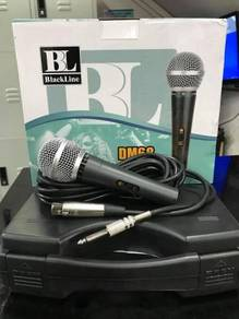 Blackline Dm68 Wire Mic With Case and Cable
