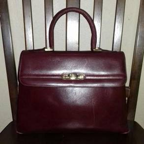 Tote Bag Leather Bally International