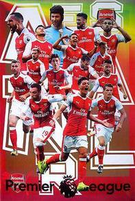 Poster ARSENAL 15 PLAYERS
