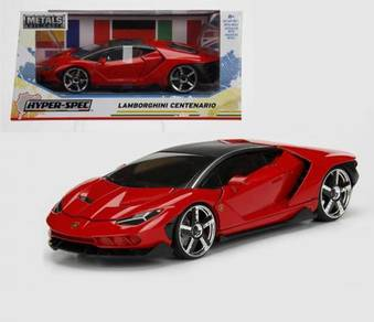Lamborghini Centenario red 1/24 model car