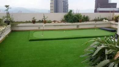 Artificial grass dan putting golf