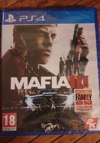 NEW AND SEALED Mafia 3 III PS4 Game