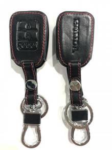 Honda city jazz brv leather key cover